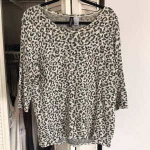 Leopard H&M Divided 3/4 Sweater
